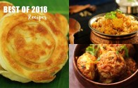 Best of 2018 Recipes – Paneer Biryani – Madurai Bun Parotta