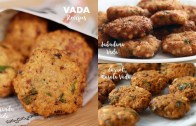 Vada Recipes – Alasanda Vada – Sabudana Vada – Carrot Vada recipe