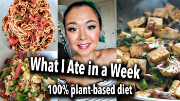 WHAT I ATE IN A WEEK – 7 DAYS OF VEGAN FOOD – easy vegan recipes
