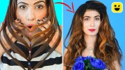 Last Minute Hairstyles & Beauty Hacks To Look Perfect Everyday – DIY Life Hacks &amp – Hair Hacks
