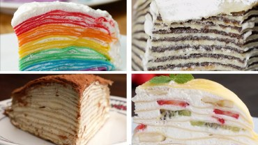 4 Astonishing Crepe Cakes