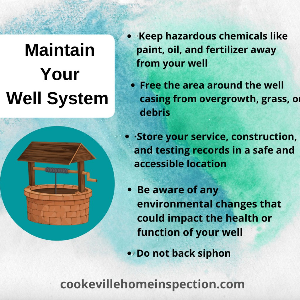 Maintaining a healthy well system