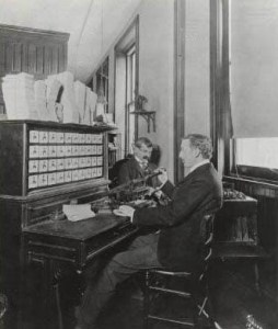 Hollerith electric tabulating machine, 1902. Library of Congress, Washington, DC.