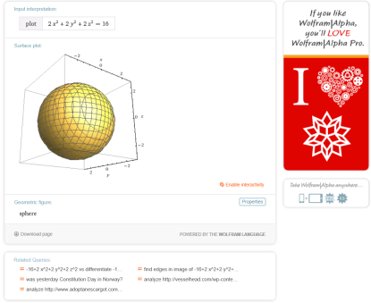 Sphere graph