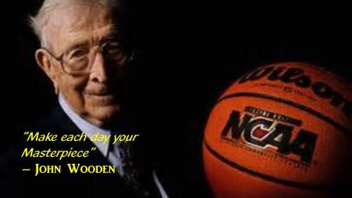 John Wooden Masterpiece