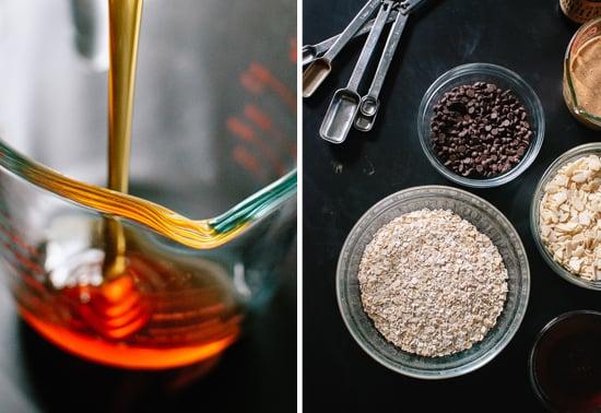 granola bar ingredients