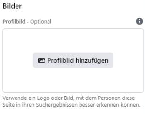 Schritt 3: Profilbild hochladen