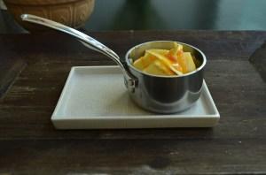 boter en stroop in pan