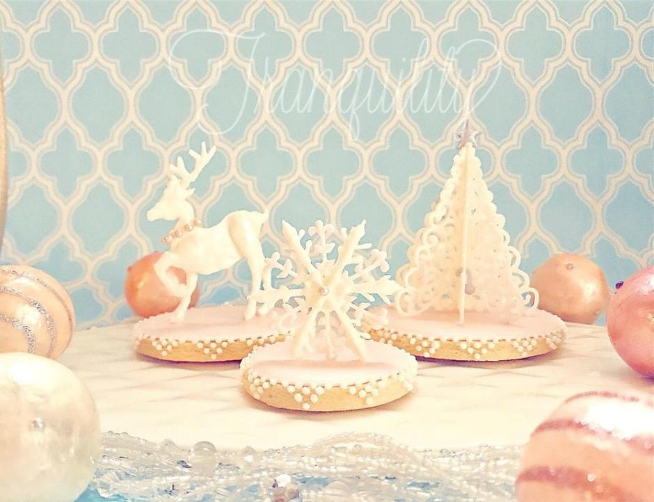 3-D Royal Icing Christmas Cookies | Cookie Connection
