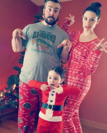 This is one of my favorites from our Christmas card photo shoot.