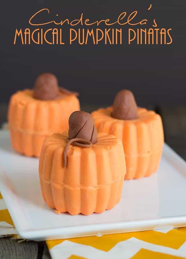 cinderella's magical pumpkin pinatas