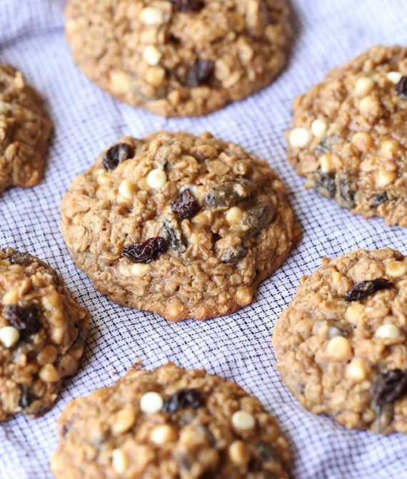 The BEST Oatmeal Raisin Cookies ever. My kids most favorite recipe I have been making for years and years!