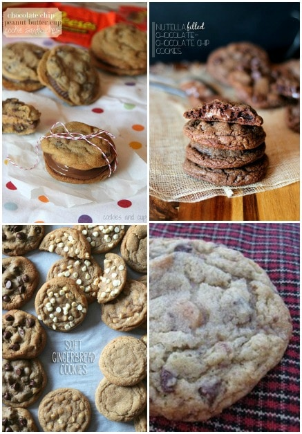 Fun SPins On Classic Chocolate Chip Cookies