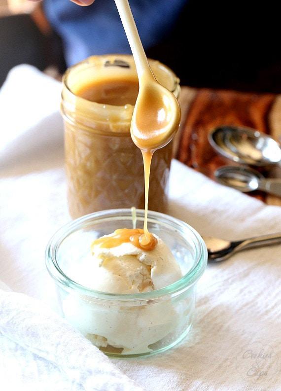 Perfect Microwave Caramel Sauce!