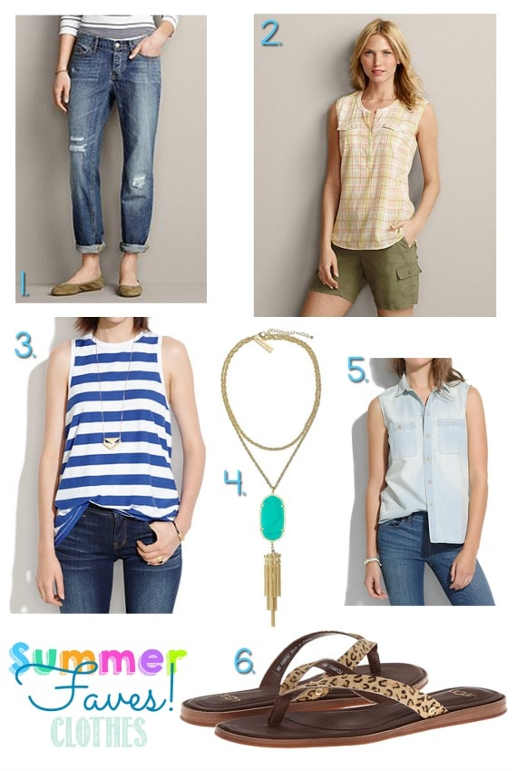 summer faves clothes