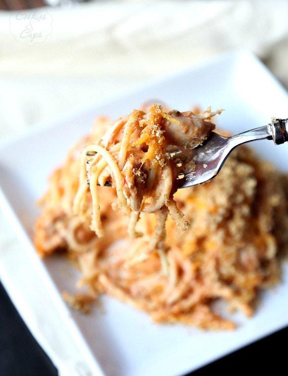 Chicken Spaghetti Casserole!
