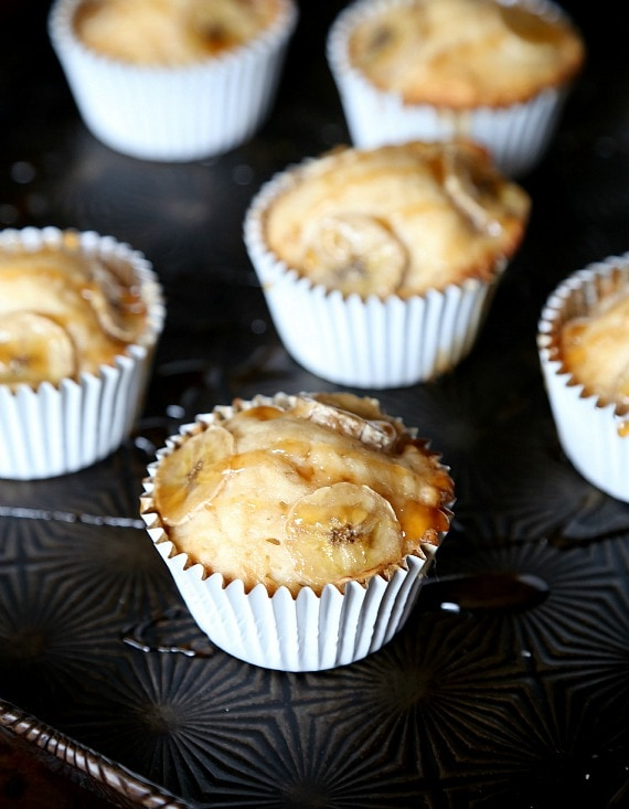 Banana Caramel Muffins..so good!