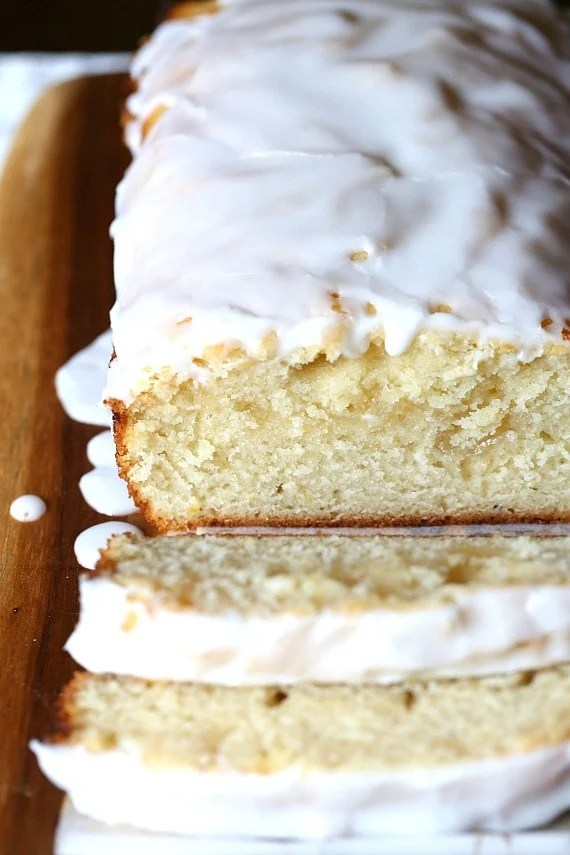 This Lemon Curd Pound Cake is soft, rich and buttery. It has a hint of lemon zest and is swirled with lemon curd. And finally it's topped with a Limoncello Glaze that is to die for!