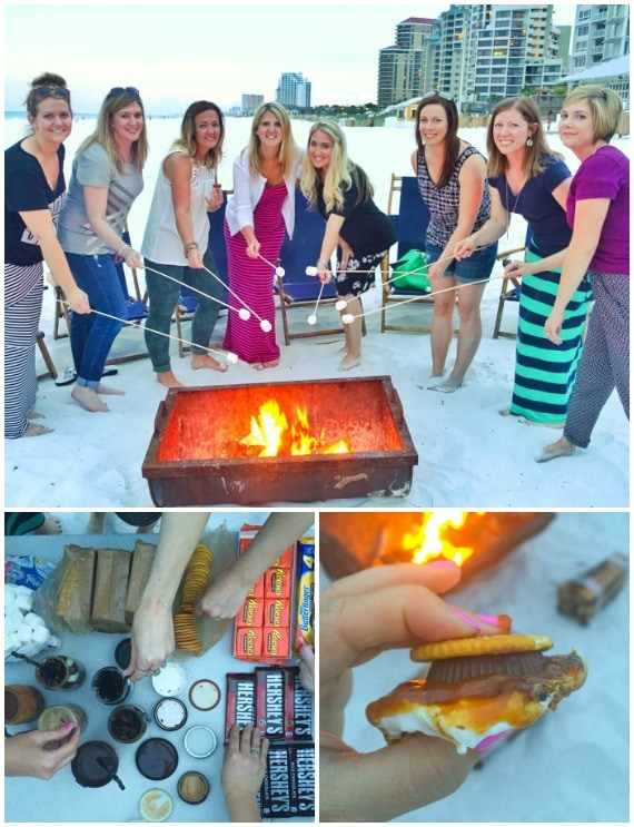 Smores Beach Party at Sandestin Golf and Beach Resort