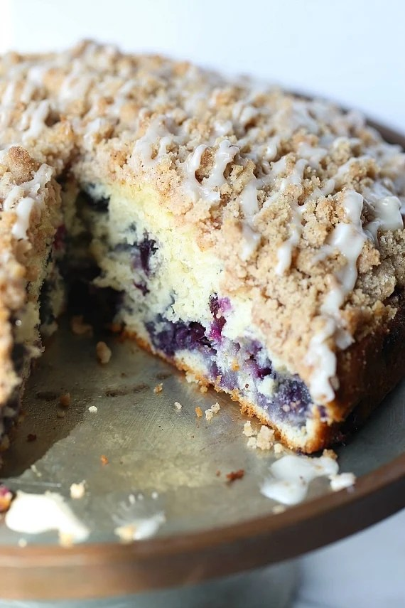 Blueberry Muffin Cake Cookies And Cups