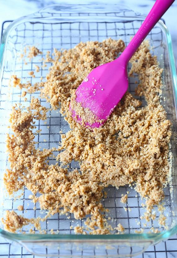 Graham Cracker Crust for PMS Bars!