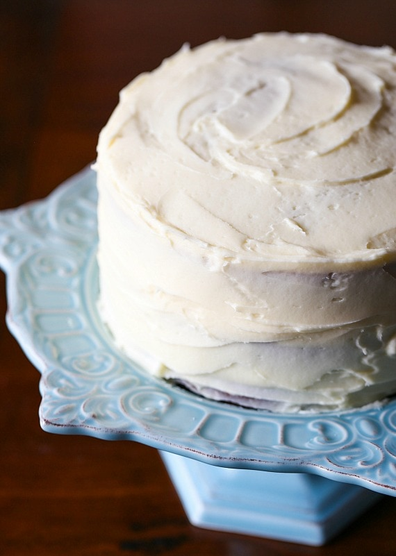 Perfect cream cheese frosting!