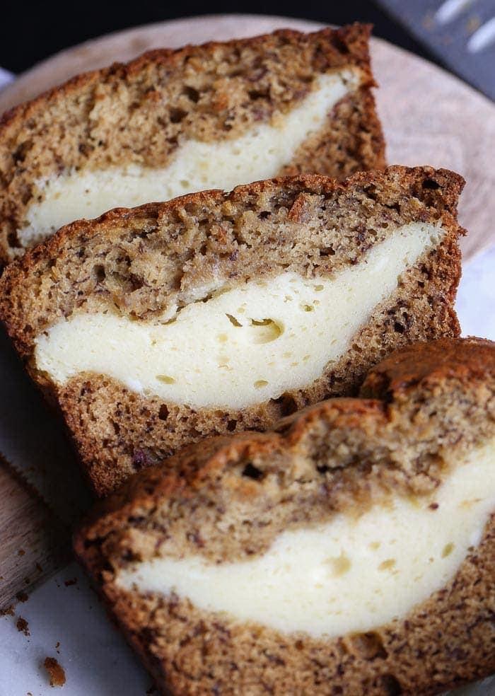 21. Banana Bread Cheesecake
