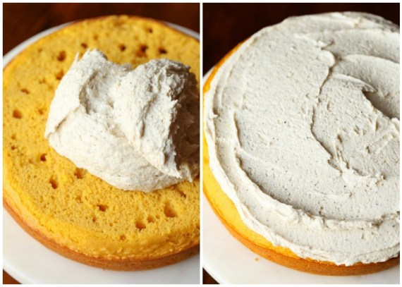 Perfect Pumpkin Cake with Browned Butter Maple Frosting