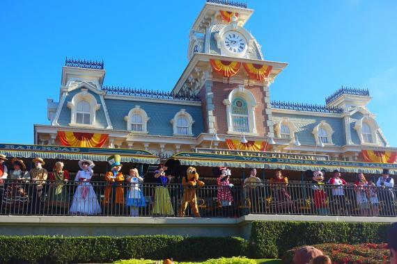 Opening Ceremony Magic Kingdom