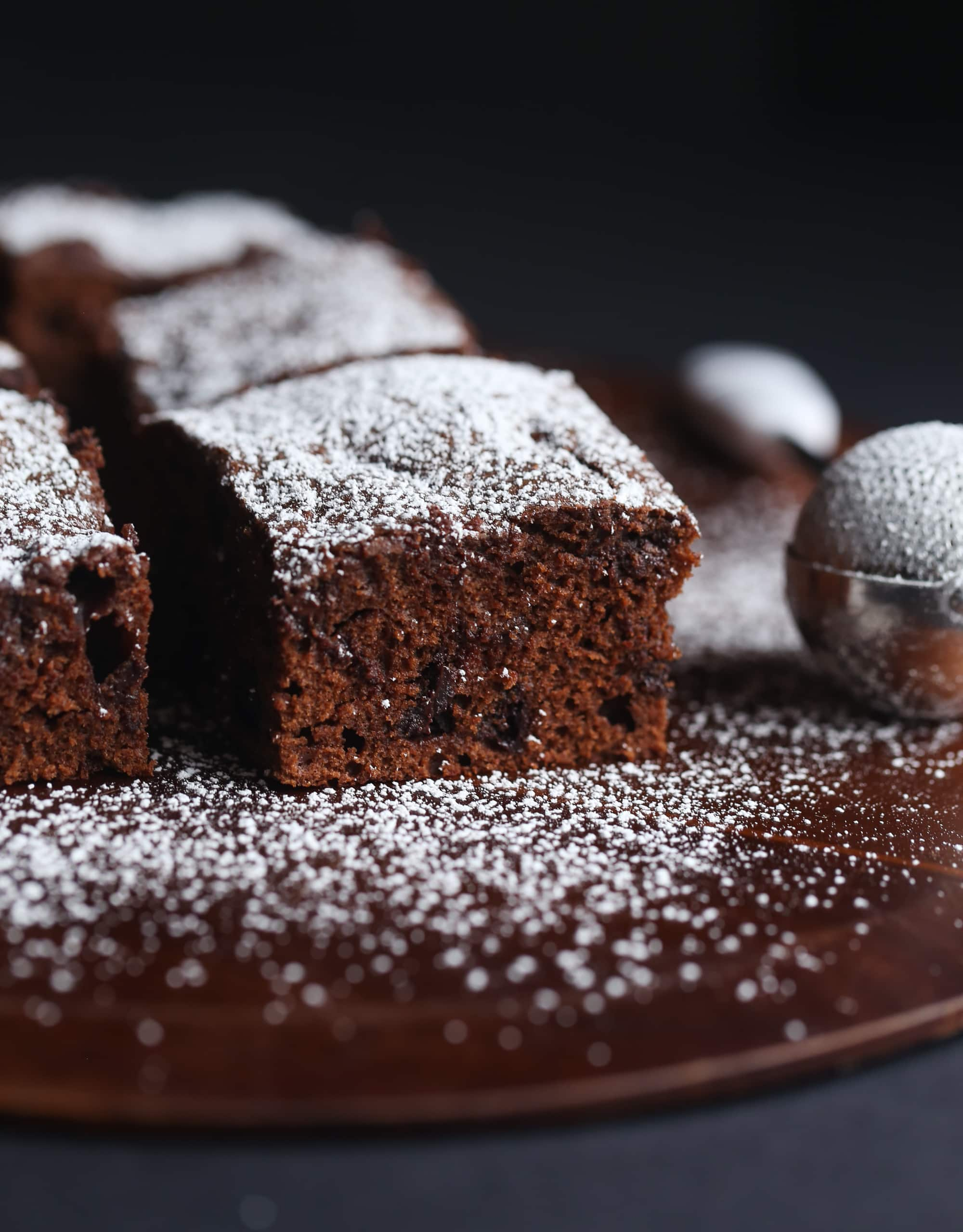 Sour Cream Chocolate Cake - Cookies and Cups