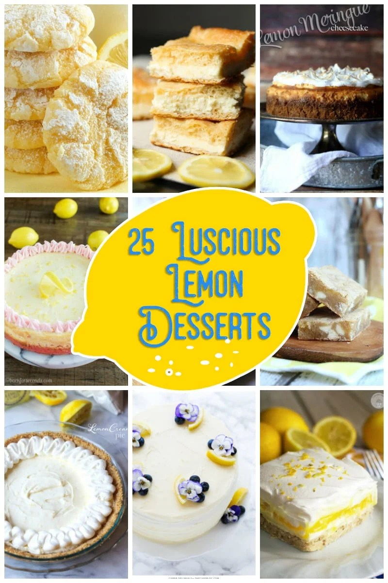 25 Luscious Lemon Desserts!