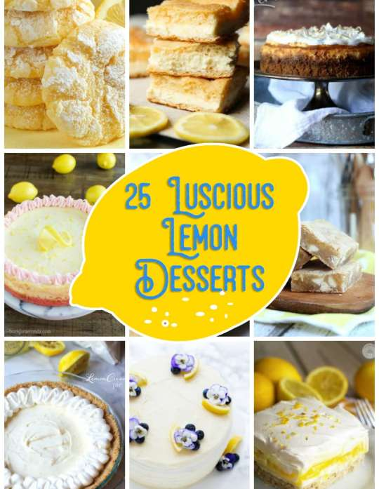 25 Luscious Lemon Desserts!