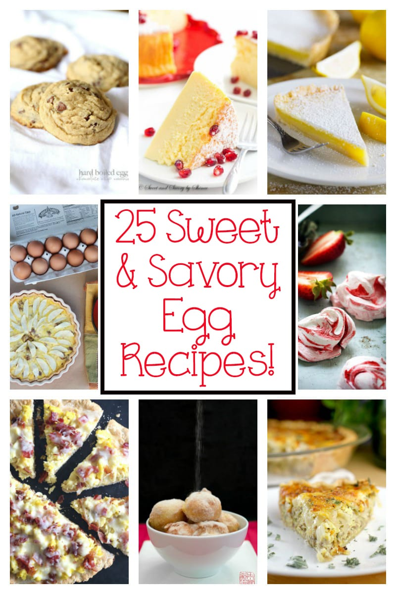 25 Sweet & Savory Egg Recipes