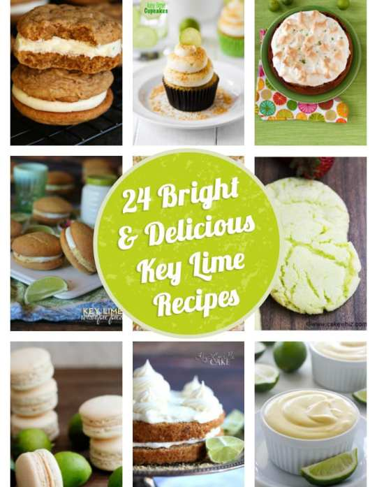 24 Key Lime Pie Recipes You Are Going To LOVE!!