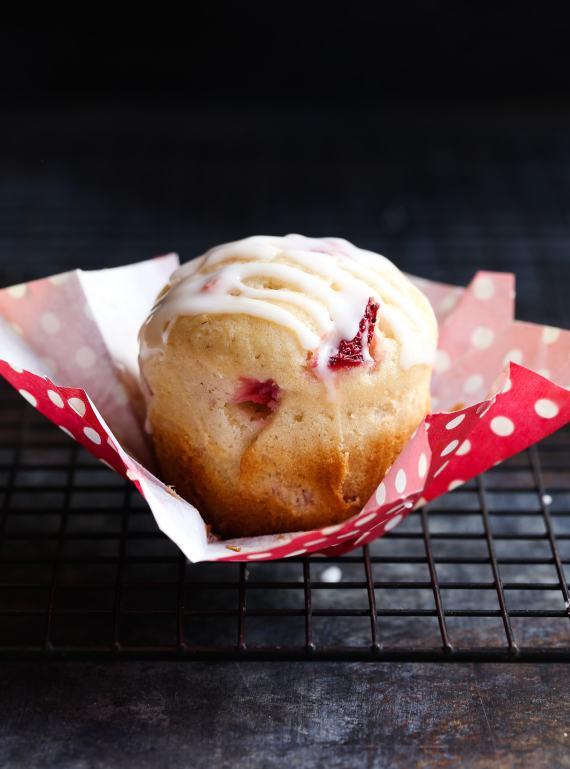 Strawberry Buttermilk Muffins