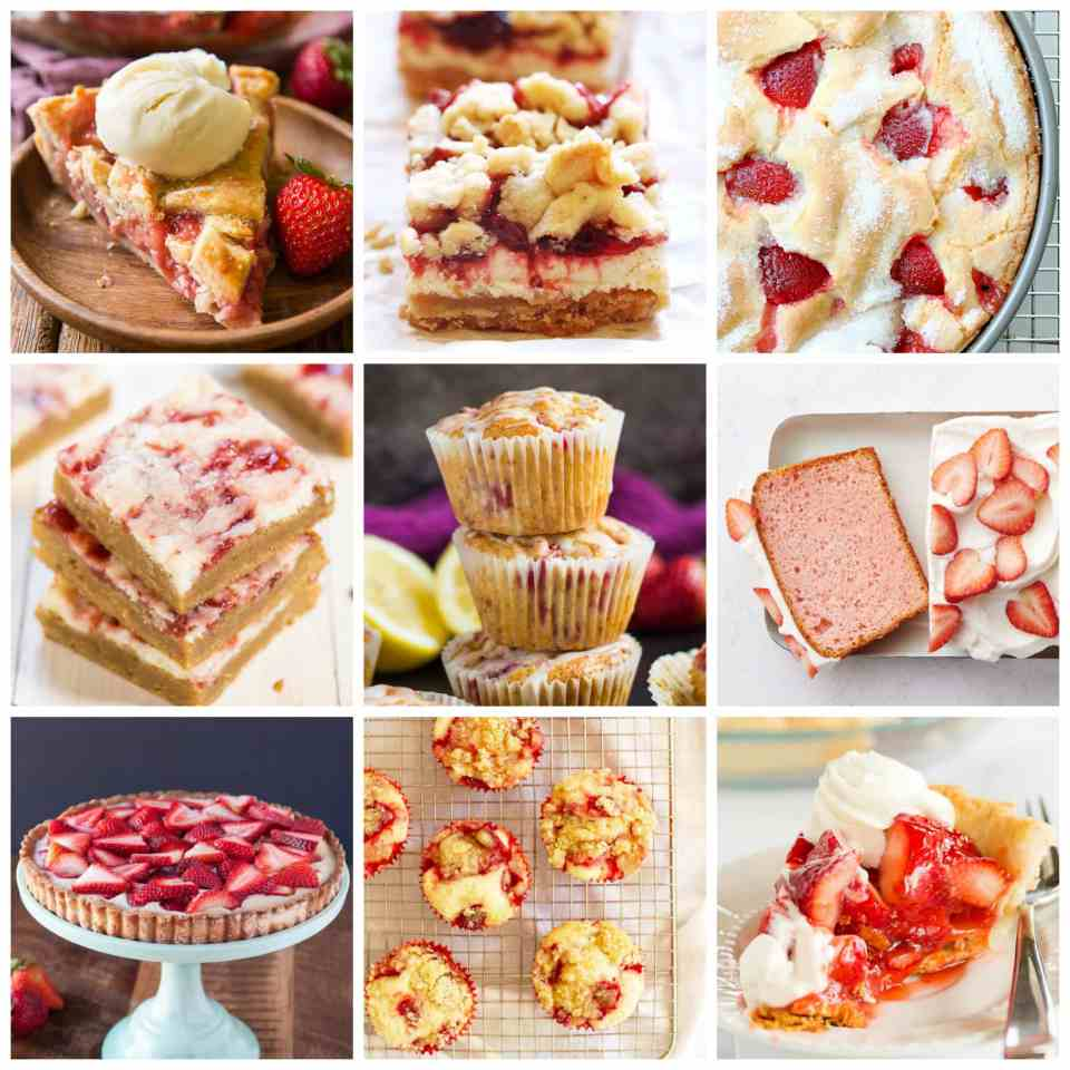 Strawberry Sweets: 45 Strawberry Sweets