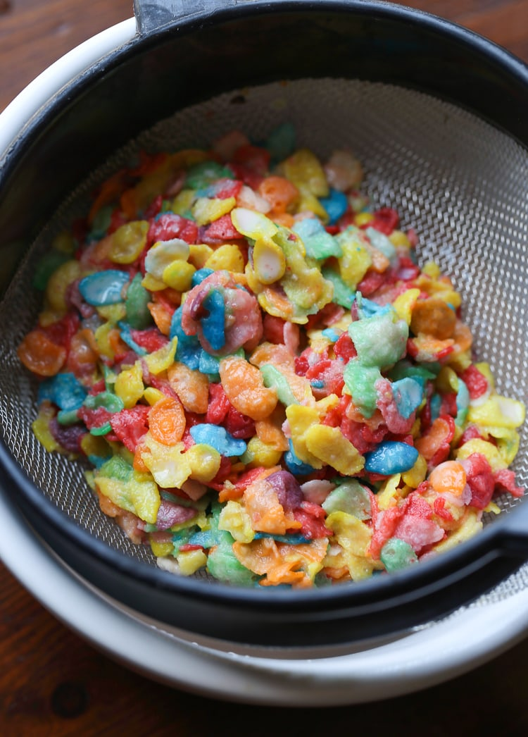 how to make cereal milk