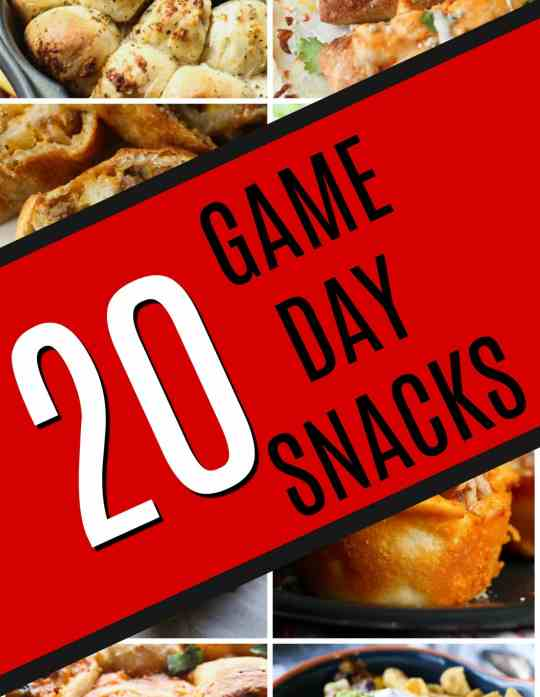 20 Game Day Snacks