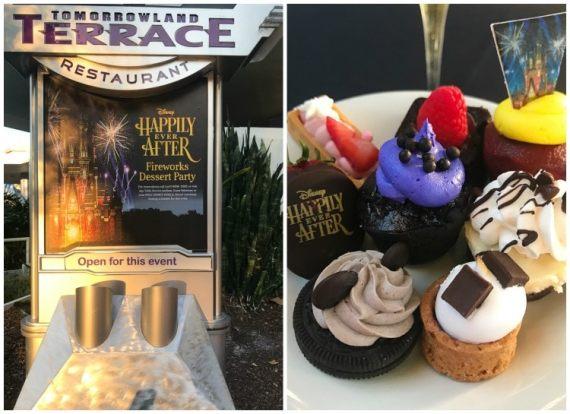 Dessert Party Magic Kingdom