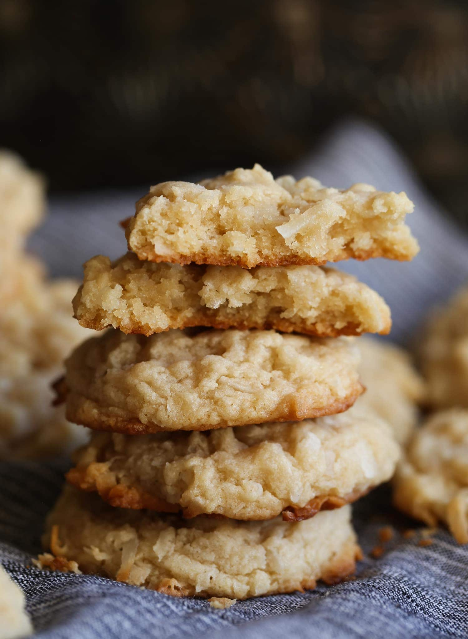 Coconut Cream Cheese Cookies Easy Coconut Cookie Recipe