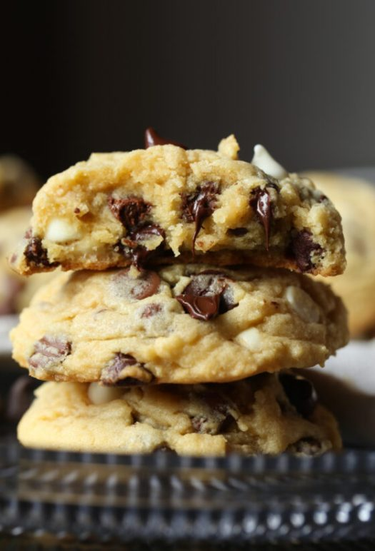 Triple Chip Pudding Cookies