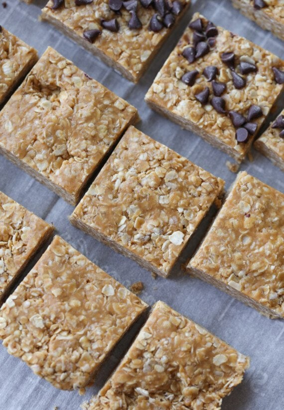 cut no bake bars from above