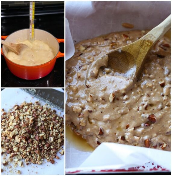 Almond Toffee Mixture for Almond Roca
