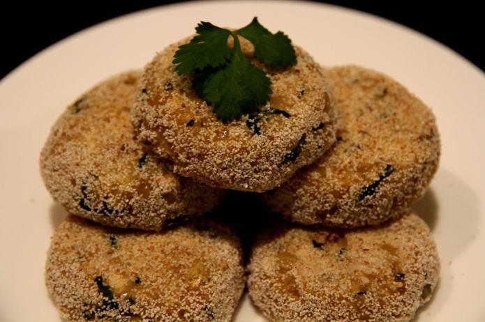 Roasted Quinoa Cakes