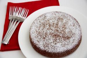 Eggless Beetroot Cake