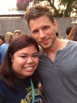 """I apologized to Matt Lauria for wearing the wrong shirt, and he said, """"Wrong side of the tracks, babe."""" DEAD."""