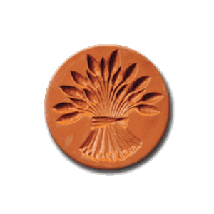 1018 Sheaf of Wheat cookie stamp | cookiestamp.com