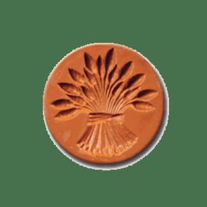 1018 Sheaf of Wheat cookie stamp | cookiestamp.com