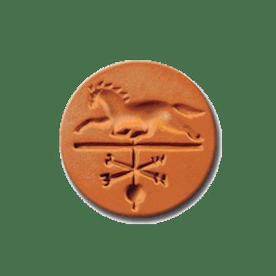 1064 Horse Weathervane Cookie Stamp | CookieStamp.com