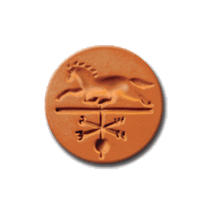 1064 Horse Weathervane Cookie Stamp | CookieStamp.com